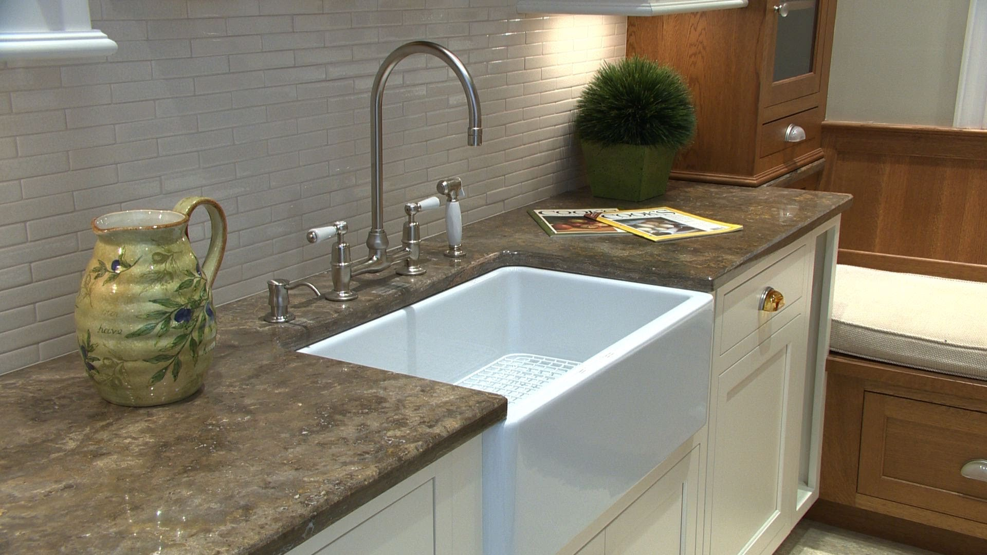 Odors coming from kitchen sink could mean trouble