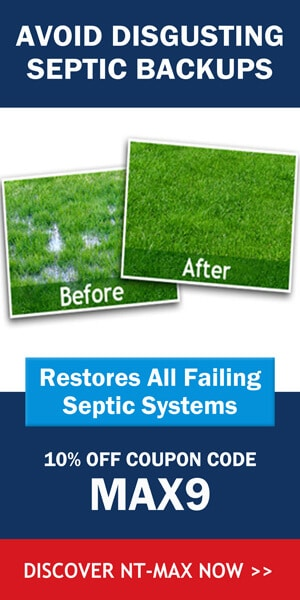 Septic Tank Treatment. Rejuvenate Septic Tank and Maintain
